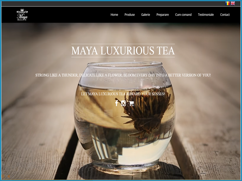 Maya Luxurious Tea